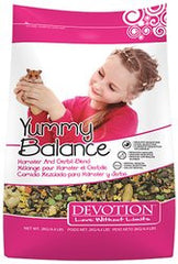 ARMSTRONG DEVOTION – Yummy Balance Hamster and Gerbil Blend Small Animal Food - Canadian Pet Connection