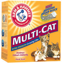 ARM & HAMMER Multi-Cat Strength Clumping Litter, Fresh Scent - Canadian Pet Connection