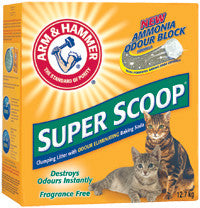 ARM & HAMMER Super Scoop Clumping Litter, Fragrance Free - Canadian Pet Connection