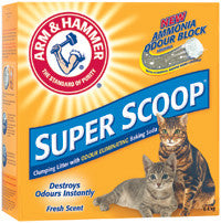 ARM & HAMMER Super Scoop Clumping Litter, Fresh Scent - Canadian Pet Connection