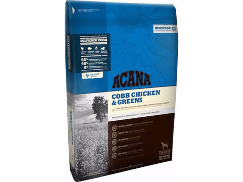 ACANA HERITAGE Cobb Chicken and Greens Dry Dog Food for All Life Stages - Grain Free