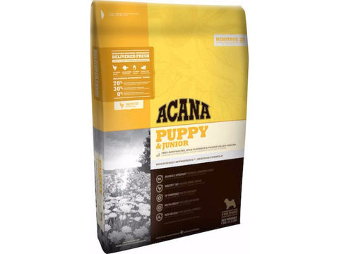 ACANA HERITAGE Puppy and Junior Dry Dog Food - Grain Free