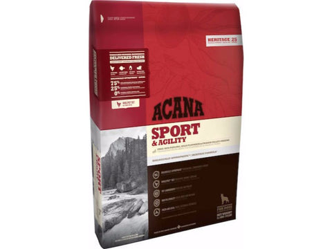 ACANA HERITAGE Sport and Agility Dry Adult Dog Food - Grain Free