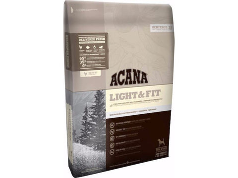 ACANA HERITAGE Light and Fit Dry Dog Food - Grain Free - Diet and Weight Management
