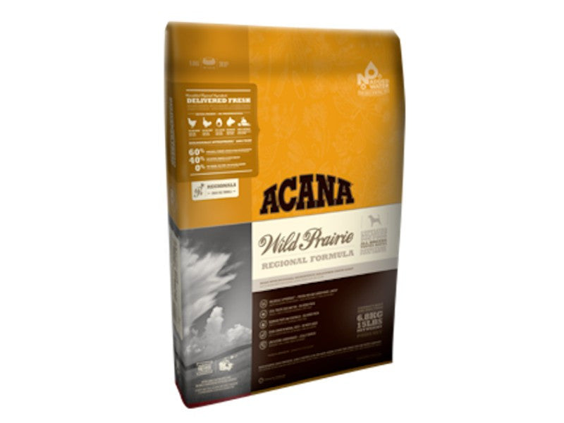 Acana Wild Prairie dog food for all life stages