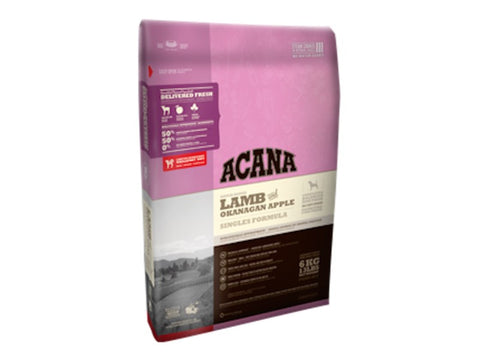 ACANA SINGLES Lamb and Okanagan Apple Dry Dog Food for All Life Stages - Grain Free