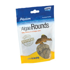 Aqueon Algae Rounds Bottom Feeder Fish Food