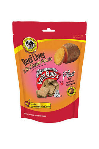 BENNY BULLY'S Liver Plus-Sweet Potato Treats for Dogs - Canadian Pet Connection