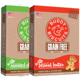 CLOUD STAR Buddy Biscuits Oven Baked GRAIN FREE Original & Teeny (Roasted Chicken / Peanut Butter) - Canadian Pet Connection