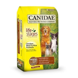 CANIDAE Dog Food (Chicken and Rice Formula)- for All Life Stages