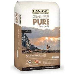 CANIDAE Grain Free Dog Food - Pure Elements - for All Life Stages