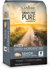 Canidae Grain Free Dog Food Pure Meadow Senior Food with Chicken - Canadian Pet Connection