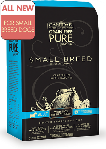 Canidae Grain Free Dog Food Pure Petite Small Breed Chicken