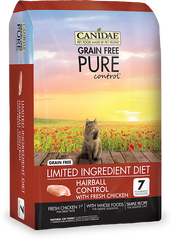 Canidae Grain Free Pure Control Hairball Control Cat food with Chicken - Canadian Pet Connection