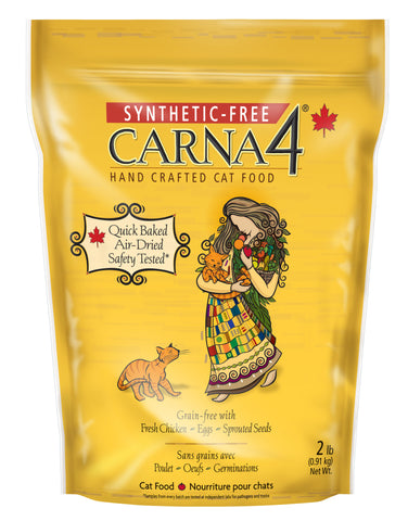 Carna4 Handcrafted Cat Food for All Ages - Chicken Formula