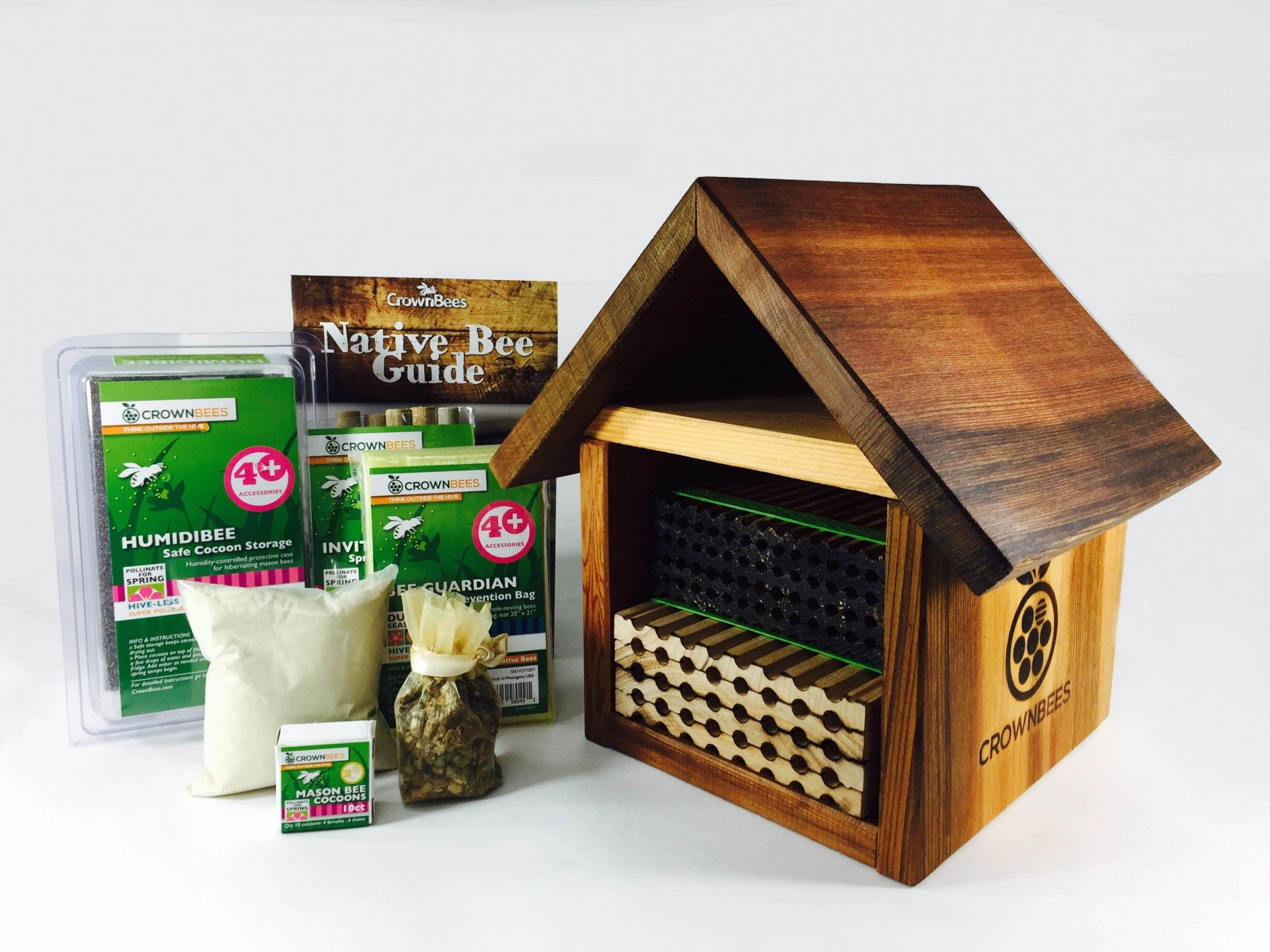 crown bees beeworks bee chalet kit canadian pet connection