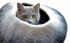 Dharma Dog Karma Cat Ombre Cave Bed - Canadian Pet Connection