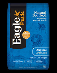 EAGLE PACK Original Dog Food - Chicken and Pork - for All Life Stages