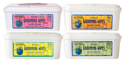 EARTHBATH Grooming Wipes for Dogs