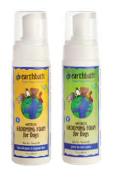 EARTH BATH Waterless Grooming Foam for Dogs