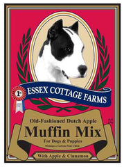 ESSEX COTTAGE FARMS Canine Treat Mixes - Dutch Apple Muffin, Carob Fudge Brownie, and Holiday Cake Mix - Canadian Pet Connection