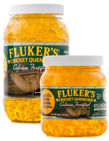FLUKERS Feeder Insect - Cricket Quencher Calcium Fortified
