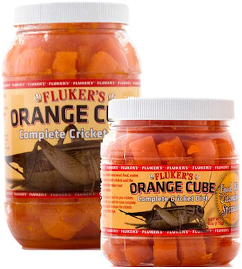 FLUKERS Feeder Insect - Orange Cube-Complete Cricket Diet