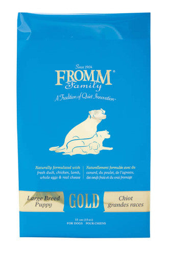 FROMM Gold Large Breed Puppy Dog Food - Canadian Pet Connection