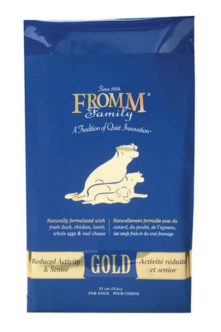 FROMM Gold Reduced Activity Senior Dog Food