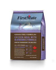 First Mate Chicken with Blueberries Grain Free Cat Food - for All Life Stages - Canadian Pet Connection