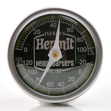 Flukers Hermit Crab Adhesive Thermometer and Hygrometer in One