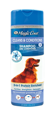 Four Paws Magic Coat 2-in-1 Shampoo and Conditioner