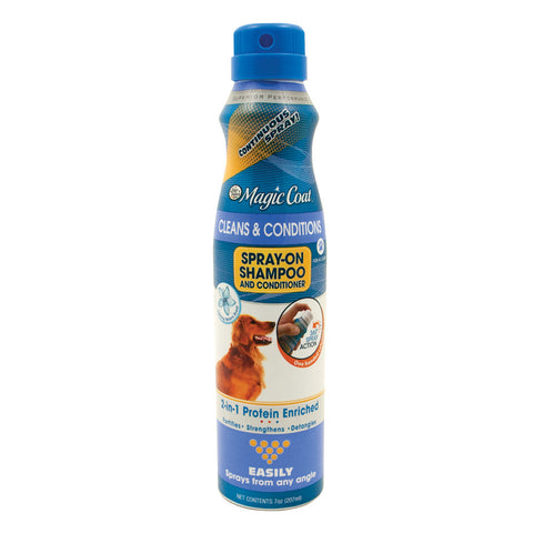 Four Paws Magic Coat Cleans and Conditions Continuous Spray-On Shampoo