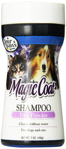 Four Paws Magic Coat Dog and Cat Grooming Shampoo Powder