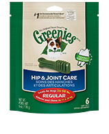 GREENIES Hip and Joint Care Dog Treats