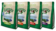 Greenies Bursting Blueberry Dental Chew Dog Treats - Canadian Pet Connection