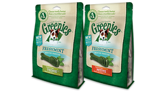 Greenies Fresh Mint Dental Chew Dog Treats - Canadian Pet Connection