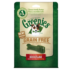 Greenies Grain Free Dental Chews Dog Treats - Canadian Pet Connection