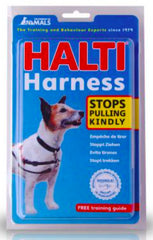HALTI No Pull Harness - Red Black - Small / Medium / Large - Canadian Pet Connection