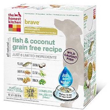 "HONEST KITCHEN (THE) ""Brave"" Limited Ingredient Fish and Coconut Grain Free Dog Food for All Life Stages - Canadian Pet Connection"