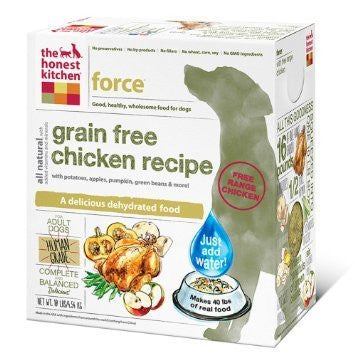 "HONEST KITCHEN (THE) ""Force"" Chicken and Grain Free Dog Food for All Life Stages - Canadian Pet Connection"