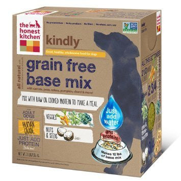 "HONEST KITCHEN (THE) ""Kindly"" Base Mix (Vegetables, Nuts & Seeds) Dog Food for All Life Stages - Grain Free - Canadian Pet Connection"