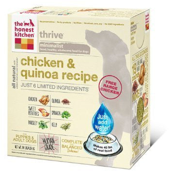"HONEST KITCHEN (THE) ""Thrive"" Chicken and Gluten Free Dog Food for All Life Stages - Canadian Pet Connection"