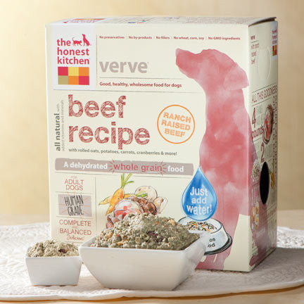 "HONEST KITCHEN (THE) ""Verve"" Beef and Grain Dog Food for All Life Stages - Canadian Pet Connection"