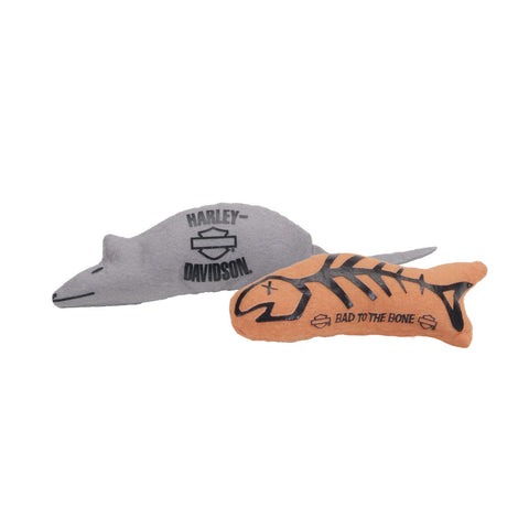 Coastal Harley-Davidson Two Pack Cat Toy with Catnip