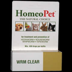 HOMEOPET Homeopathic Remedies for Animals - Wormer - Canadian Pet Connection