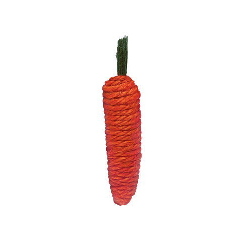 Kaytee Bunny Flip-N-Toss Carrot Toy for Small Animals