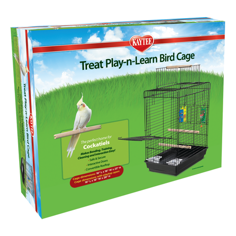 Kaytee Play N Learn Cage for Cockatiels