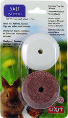 Lixit Salt and Mineral Trace Wheel Combo Pack for Small Animals