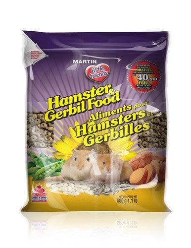 MARTIN Hamster and Gerbil Food 1kg - Canadian Pet Connection